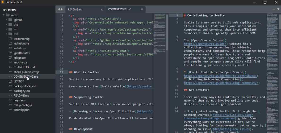 Sublime Text best code editors min