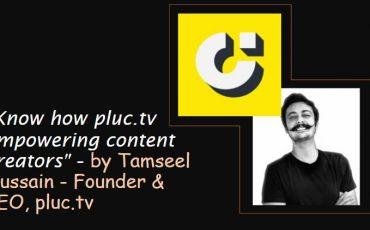 Tamseel Hussain Founder CEO pluc.tv Interview min