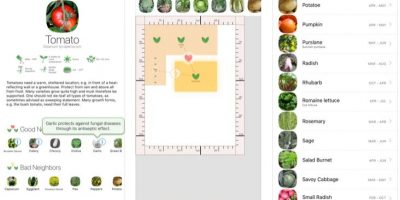 Veggie Garden Planner app iOS and android