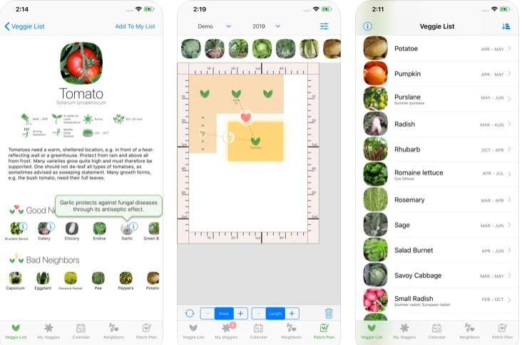 Best Veggie Garden Planner app iOS and android