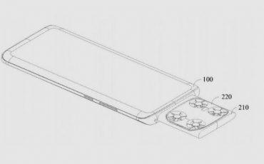 ViVO smartphone drone camera fly patent image