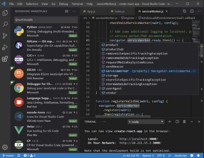Visual Studio Code min