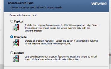 Complete Vmware tools installation on Windwos 11 or 10