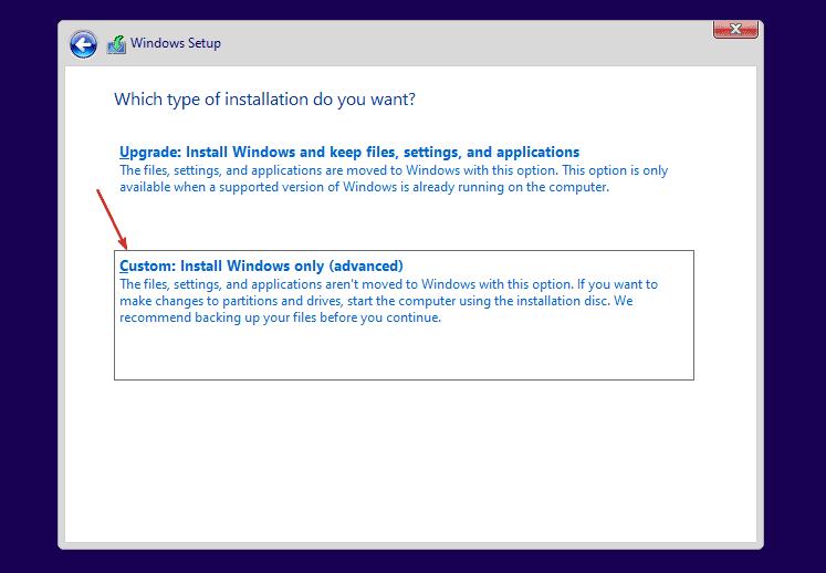 Custom Windows 11 Installation