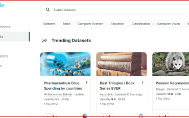 Download free Datasets for Data science project from Kaggle