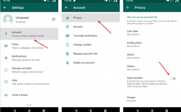 How To Hide the Blue Tick WhatsApp