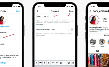 How to add pronouns in your Instagram profile
