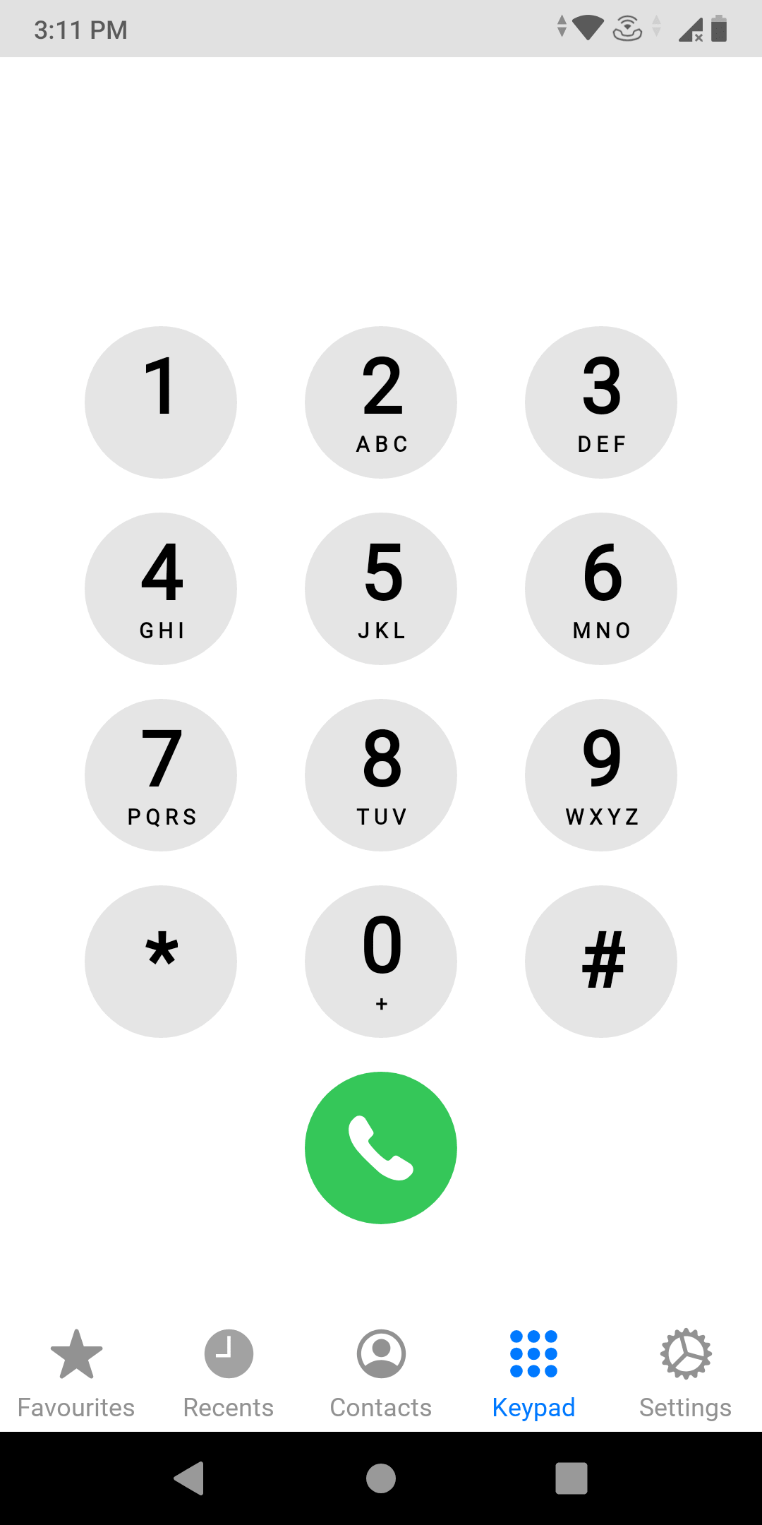 Iphone dialer for Android phone min