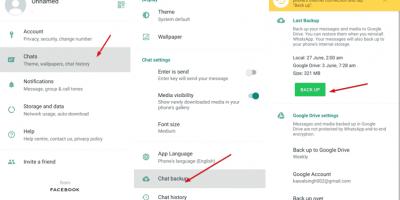 Take Whatsapp chat backup manually