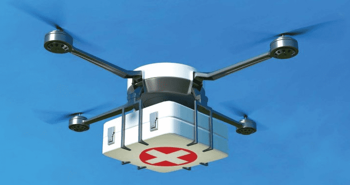 Usage of Drones in Health System