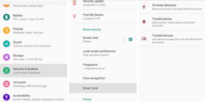 Access Smart lock in Android smartphones