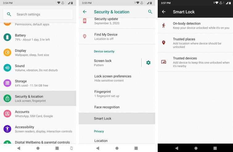 Como acessar e usar o Smart Lock no Android