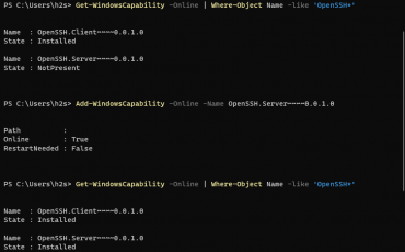 Install OpenSSH server and client on Windows 11