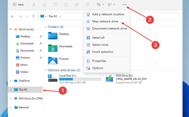 Map Network Drive Windows 11