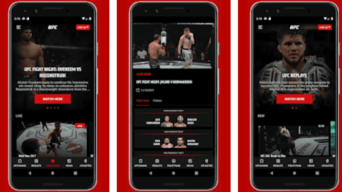 UFC Ultimate Fighting Championship