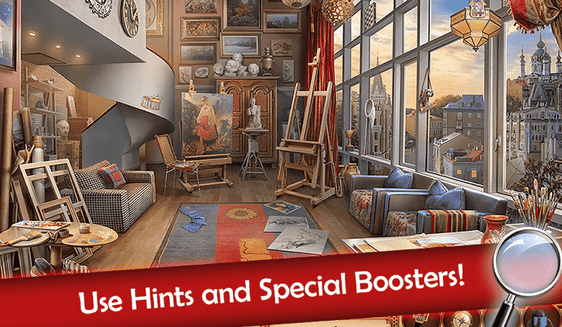 Hidden Objects Mystery Society Crime Solving Android game