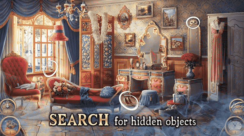 Search for Hidden Object game app