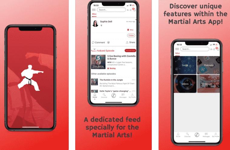 The Martial Arts App min