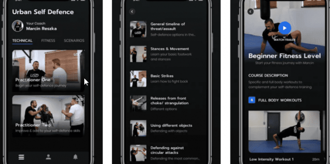 URBAN Self Defense app for Android and Apple iOS min